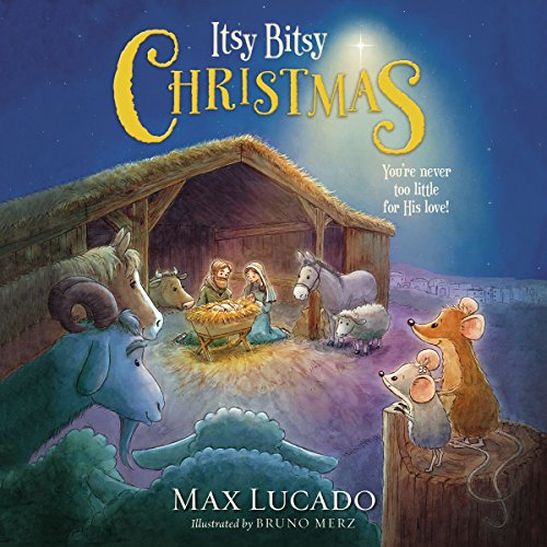 Itsy Bitsy Christmas audiobook cover art