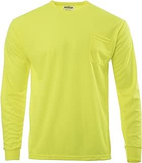 JORESTECH High Visibility T-Shirt with Pocket Long Sleeve