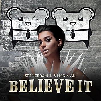 Believe It (Cazzette's Androids Sound Hot Remix Radio Edit)