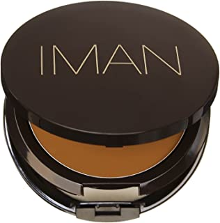 IMAN Second To None Cream To Powder Foundation, Medium Skin, Clay 5