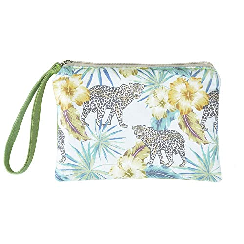 Make Up Bag,Cellphone Bag With Handle Cat Outdoors Zipper Canvas Coin Purse Wallet