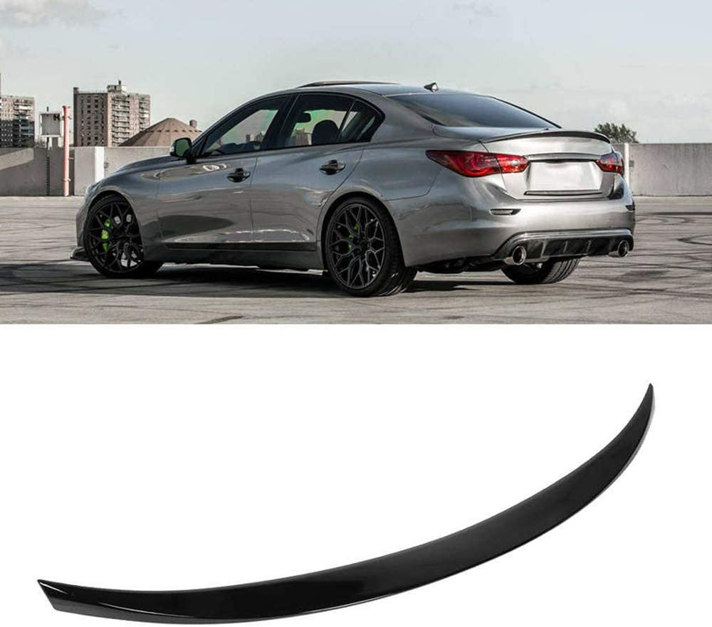 Max 65% OFF FUEIJD High order ABS Trunk lid Spoiler Glossy Style for VIP Ki Black high