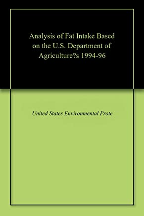 Analysis of Fat Intake Based on the U.S. Department of Agriculture's 1994-96