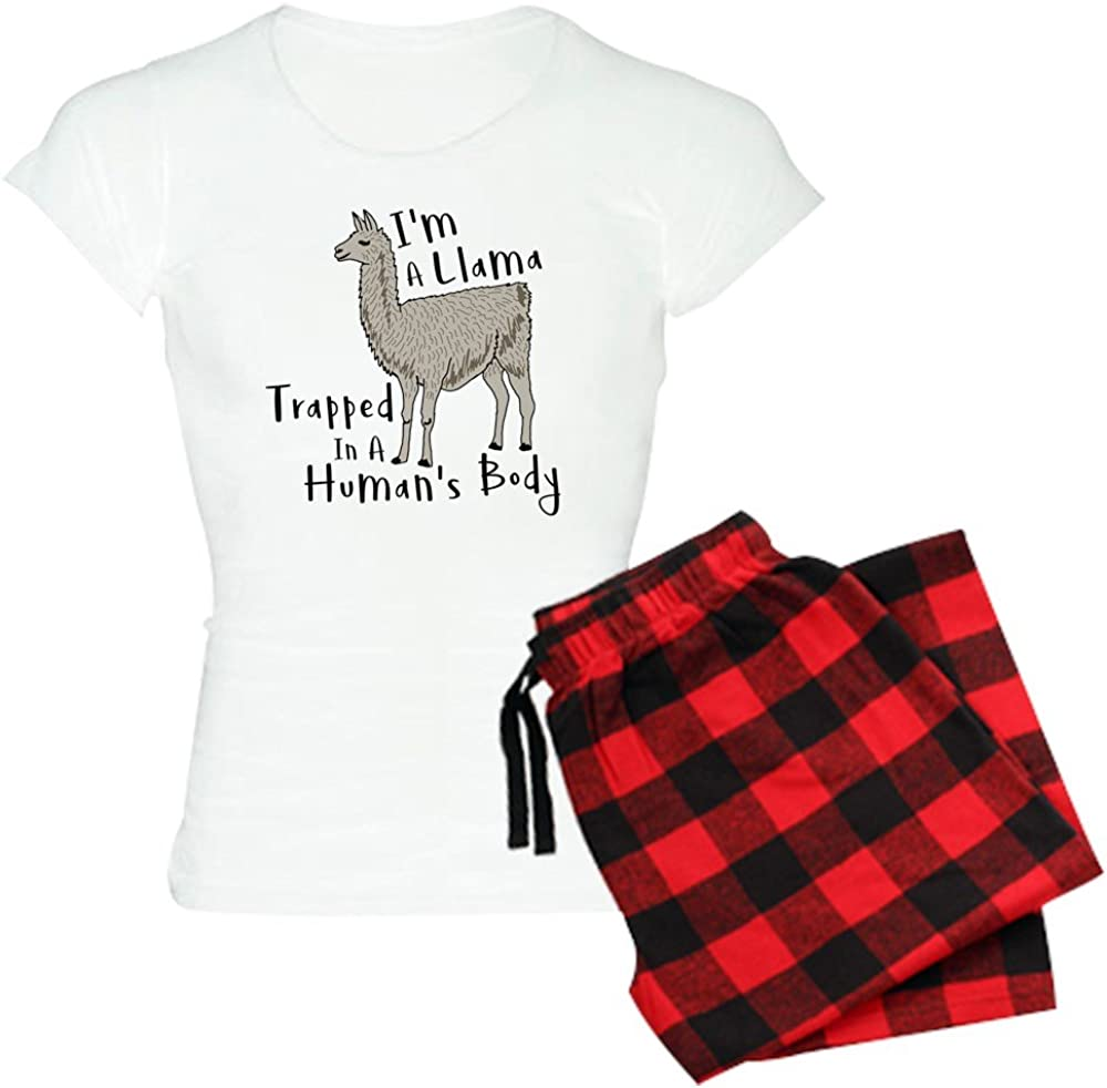 CafePress I'm A Llama Trapped Inexpensive in PJs Women's Department store Hu