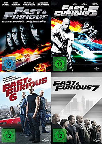 Fast and the Furious 4 - 7 Collection