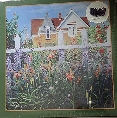 Summer Blooms (Artwork by Ned Young) 1000 Piece Puzzle 20 X 27 (c2009) by The Lang Companies