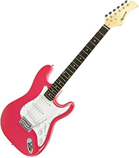 New Karrera Electric Guitar with Rosewood Fretboard - Pink