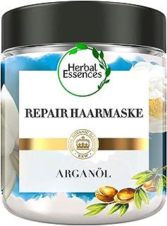 Herbal Essences PURE:renew Marokkanisches Arganöl Repair Haarmaske, 250 ml, Haarpflege Arganöl, Argan Hair Mask, Haarkur A...