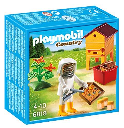 Playmobil Vida en el Bosque - Country Apicultor Juegos de construcción, Color Multicolor (Playmobil 6818)