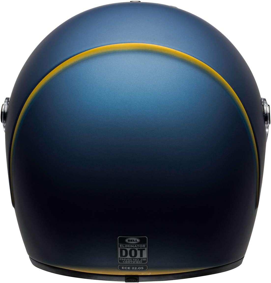 Large BELL Eliminator Street Helmet Rally Matte//Gloss Black//Orange