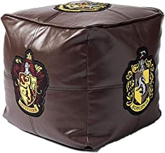 Jay Franco Harry Potter Hogwarts Floor Pillow Brown 13 inch x 13 inch