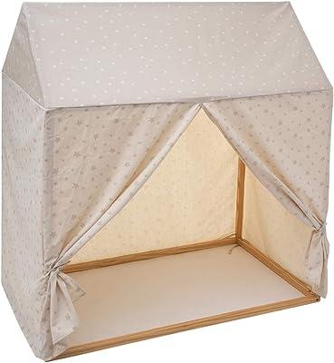 Atmosphera - Toile pour Cabane en Bois 116 x 126 cm modèle Garçon