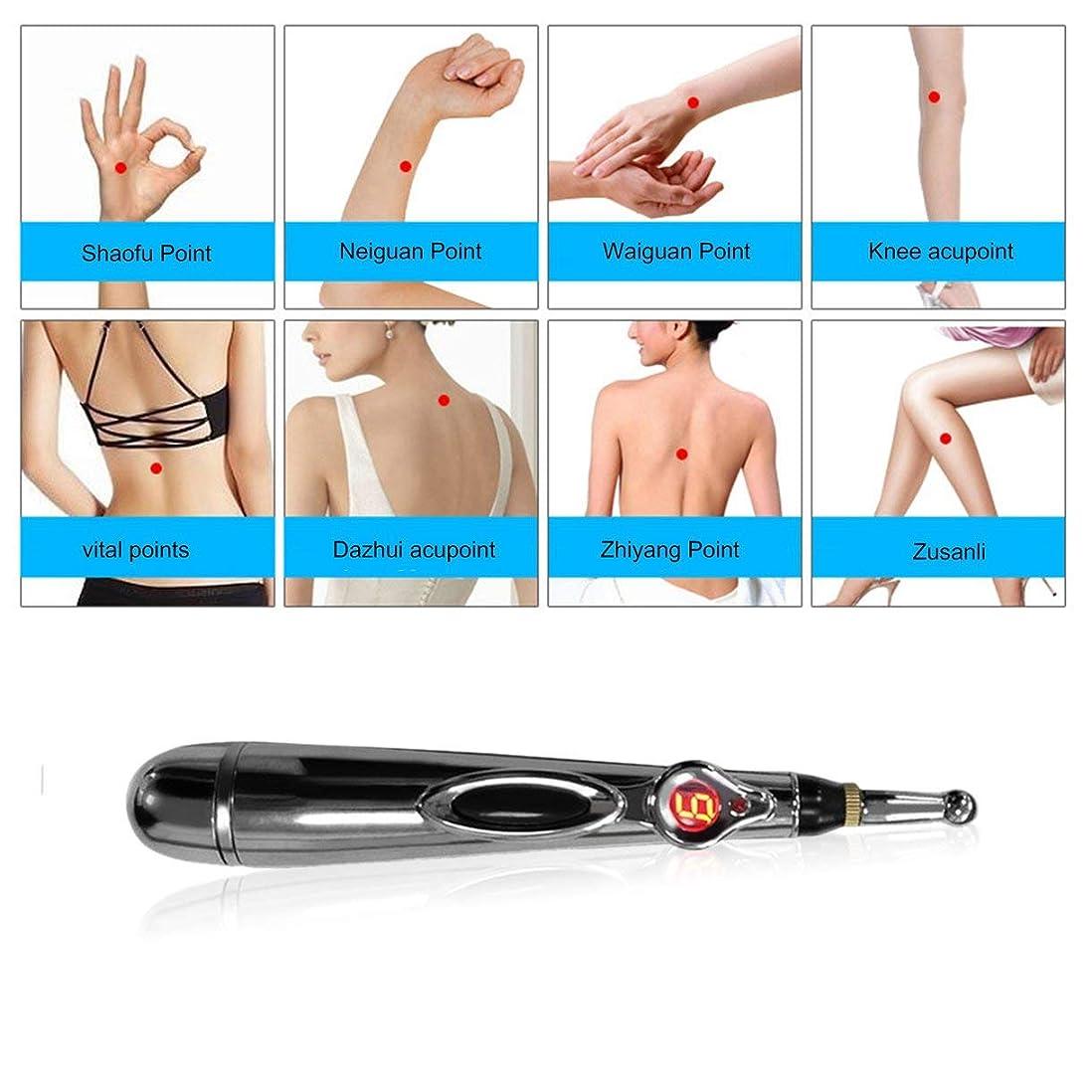 イル多様なズームインするW-912電気鍼治療ポイントマッサージペン痛み緩和療法電子子午線エネルギーペンマッサージボディヘッドネック脚