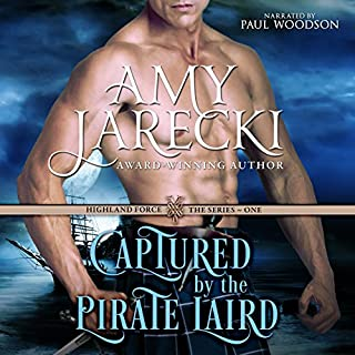 Captured by the Pirate Laird cover art