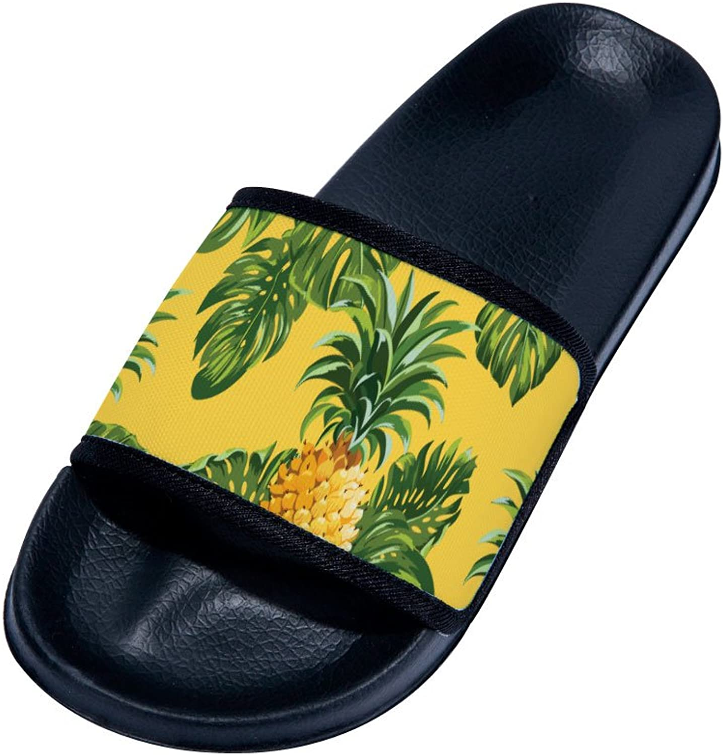 Buteri Pineapple(Black) Family Quick-Drying Non-Slip Slippers