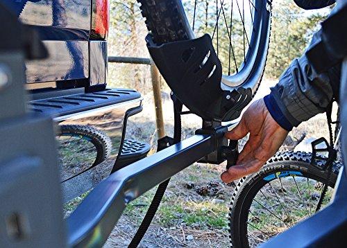 Swagman E-SPEC hitch rack for eBikes