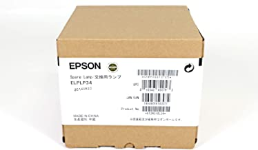 OEM EPSON ELPLP34 V13H010L34 Projector Lamp Genuine for Epson EMP-82C EMP-X3
