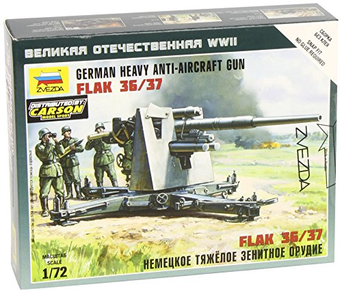 Zvezda 500786158 - 1:72 German Flak 36/37, 88 mm