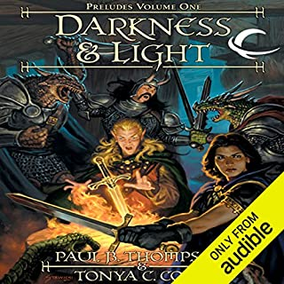 Darkness & Light audiobook cover art