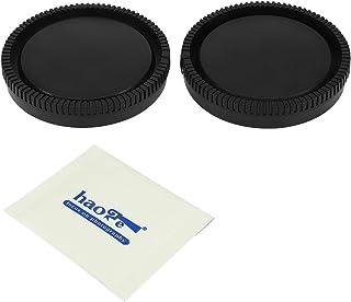 Haoge Kamera Objektivdeckel und Objektivdeckel Set für Sony E NEX Mount Camera Lens wie a5100 a6000 a6100 a6400 a6500 a6600 A7 A7R A7S A7II A7RII A7SII A7III A7RIII A7RIV A9 A9II FS5 FS7 VG30