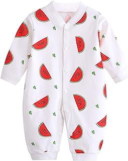 JinBei Pelele Bebé Niñas Niños Mameluco Algodon Pijama Sleepsuit Recien Nacido Mamelucos Manga Larga Mono Caricatura Traje...