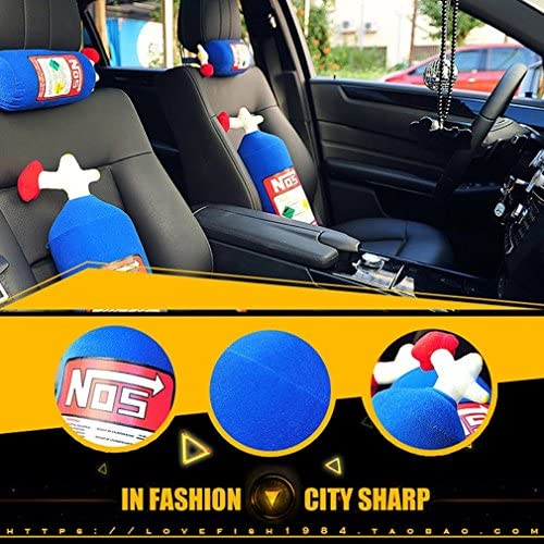 NOS Travel Pillow Jacksuper Memory Foam Car Decor Head Back Rest Sofa Cushion Toy Gift Backrest product image