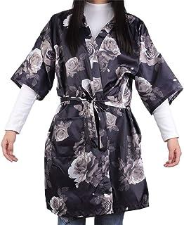 Beaupretty Hair Salon Cape Hair Cut Hairdressing Cape Cloth Apron Salon Barber Gown Guest Kimono Robe for DIY SPA Barber S...