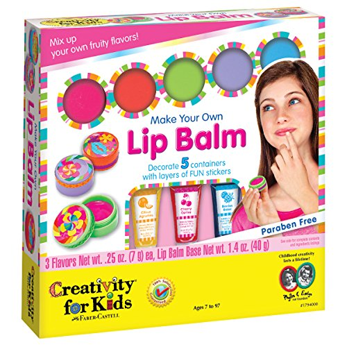 Creativity for Kids Make Your Own Lip Balm - Create 5 Fruity...