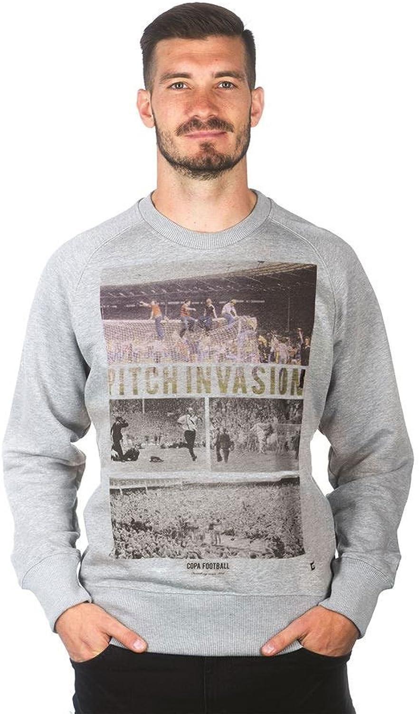 Copa Pitch Invasion Sweatshirt Sweatshirt Sweatshirt - Grau B076GBMJD5  Sehr gelobt und vom Publikum der Verbraucher geschätzt cf1513