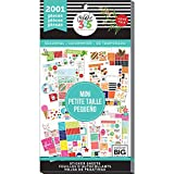 me & my BIG ideas Sticker Value Pack for Mini Planner - The Happy Planner Scrapbooking Supplies - Seasonal Theme - Multi-Color & Gold Foil - 30 Sheets, 2001 Stickers Total