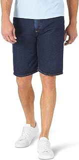 سروال جينز رجالي كلاسيكي ملائم ومريح من Wrangler Authentics من خمسة جيوب، غسول غامق، 44