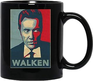 Walken Christopher Walking Blue Lou Actor Star True Romance Deer Hunter rolig kaffemugg för kvinnor och män tekoppar