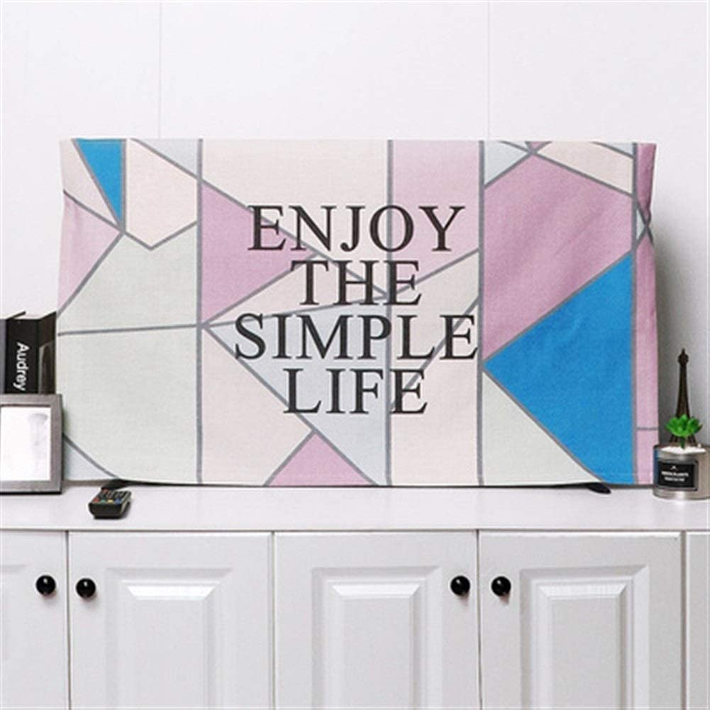 zhangmeiren TV Outlet ☆ Free Minneapolis Mall Shipping Cover Dust Household Inches Linen Cloth 55
