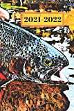 Teal and Brown Spotted  Trout Dated Calendar Planner  2 Years To-Do Lists,Tasks, Notes  Appointments for Fly Fisherman: Cute Small Pocket/Purse Size ... Dec 2022, 25 months Weekly Planner Book)