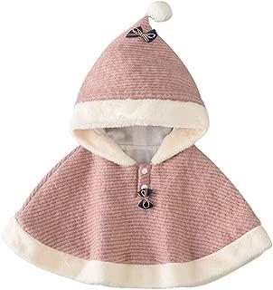 Fairy Baby Baby Girl Outwear Cloak Kid Warm Poncho Hood Cape Coat Snowsuit Winter Outfit