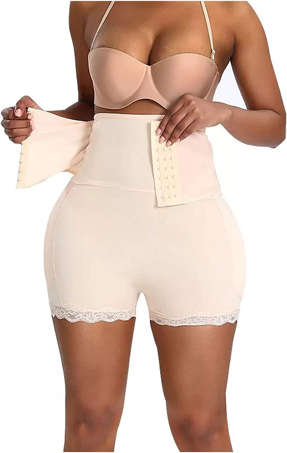 Shapewear for Women, Tummy Control-Butt Lifter High Waisted Shaper Shorts Sexy Sculpting Shaping Pants