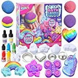 JOYIN Bath Bomb, Soap Making Kit for Kids, 2-in-1 Spa STEM Science Kits, DIY Make Your Own Bath Bombs & Soap, Spa Kit for Girls, Gift for Toddler Girl, Birthday Present