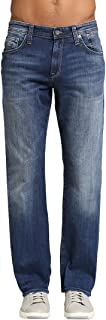 stretch straight leg jeans mens