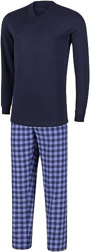 Impetus - Pyjama Long taikun Bleu Ecossais