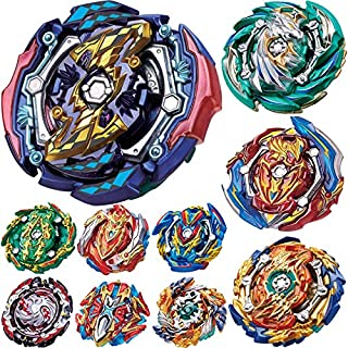 BEUTEESER 10 Pieces Burst Gyros Toy High Performance Battling Top Battle Burst Set, Birthday Party Gifts Idea Toys for Boys Kids Children Age 8+