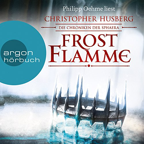 Frostflamme audiobook cover art