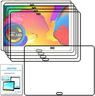 ebestStar - Pack x5 Protector Pantalla Compatible con Samsung Galaxy Tab S 10.5 SM-T800, T801 T805 Películas Flexibles Anti arañazos, Instalacion Sin-Burbujas [Aparato: 247.3 x 177.3 x 6.6mm, 10.5'']