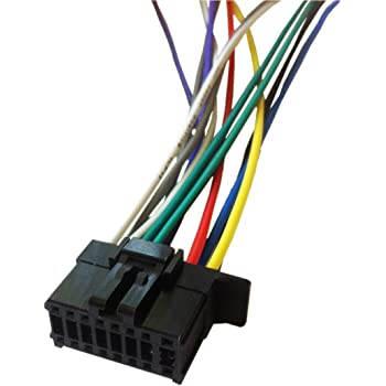 Amazon Com 16 Pin Auto Stereo Wiring Harness Plug For Pioneer Mvh S21bt Player Everything Else
