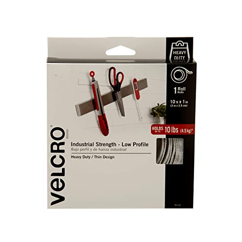 VELCRO Brand Industrial Strength - Low Profile | Superior Strength, 30% less Thickness than