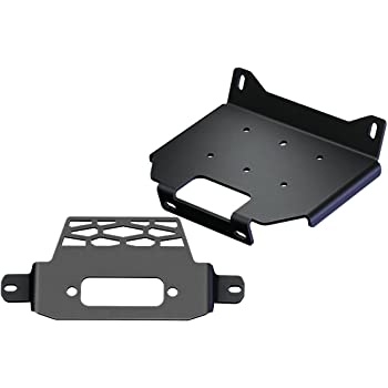 labwork Standard Winch Mount Plate Bracket for 2015 2016 2017 2018 2019 RZR 900 1000 General Model 101220