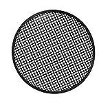 HQ Power 15' Black Metal Speaker Grille Soporte de Altavoz Negro - Soporte para Altavoces (Metal, Negro, 381 mm, 381 mm)