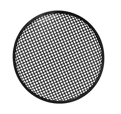 HQ-POWER - VDAC36 Metall Lautsprecher Gitter–Schwarz 146544