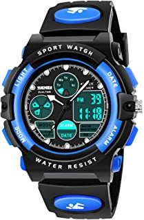 SOKY LED Waterproof Digital Sport Watch for Kids - Best Gift