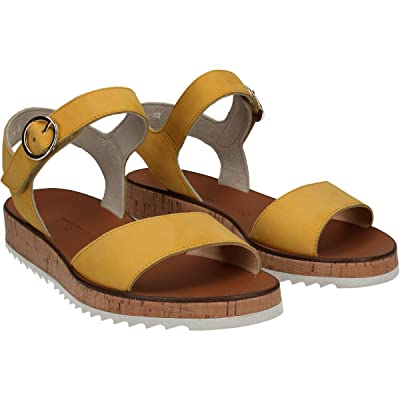 Paul Green Audrey Sandal (Sunflower Nubuck) Women