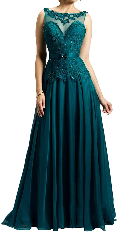 MILANO BRIDE Elegant Evening Dress Wedding Party Dress IllusionNeck Backless Lace